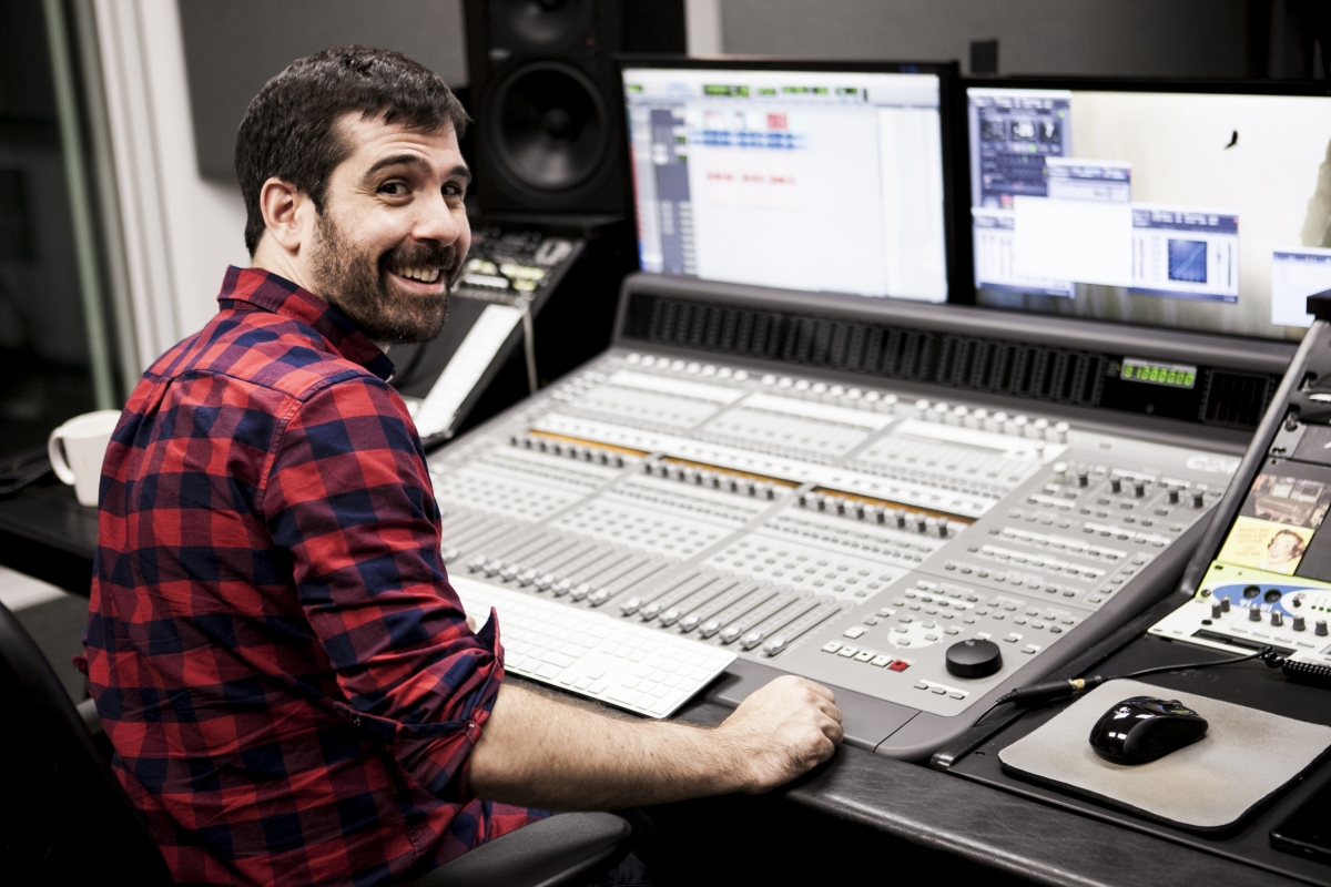 Meet Joe Basile - Field Audio Specialist and Music Composer